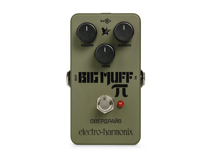 Electro-Harmonix EHX Green Russian Big Muff Pi Distortion / Sustainer Pedal