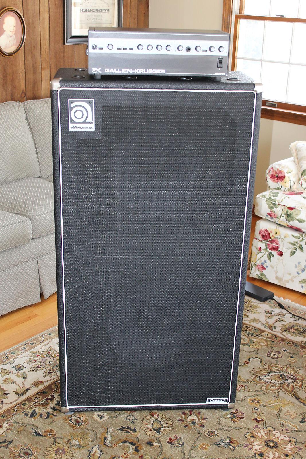 ampeg svt 215e 2x15 bass amp cabinet reverb. Black Bedroom Furniture Sets. Home Design Ideas
