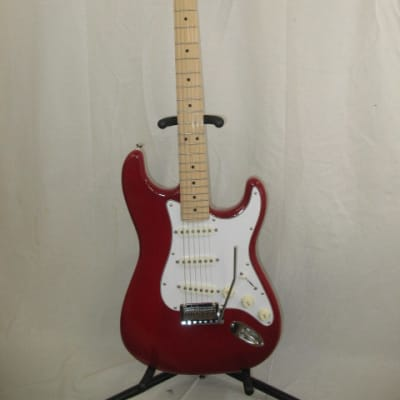 Logan custom Strat 2018 Candy Apple Red for sale