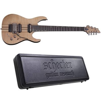 Schecter Banshee Elite-7 FR S Gloss Natural 7-String Electric Guitar + Hard Case Elite 7 for sale