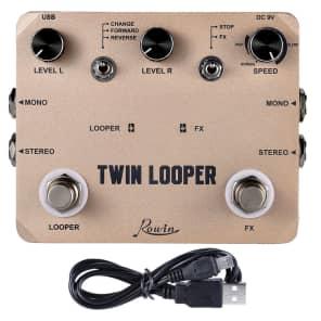 ROWIN LTL-02 Twin Looper and Recording Guitar Effect Pedal