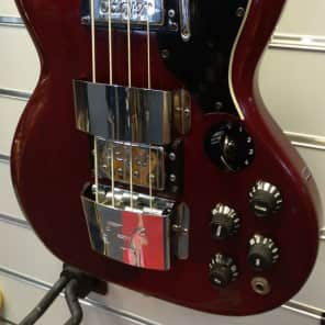 Arnold Hoyer E-Bass Type 5045 4-string from 1967 made in Germany - vintage item  with case for sale