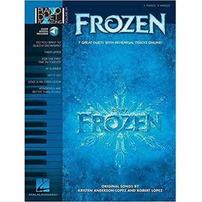 Frozen: 7 Great Duets with Rehearsal Tracks Online - Piano Duet Play-Along Volume 44