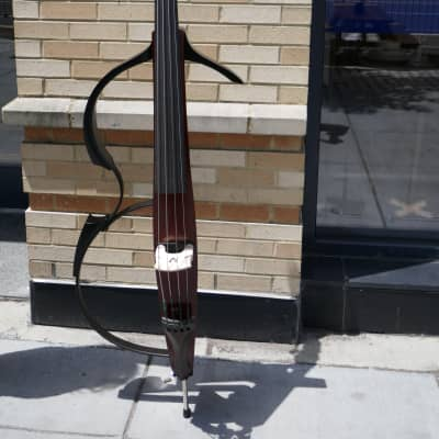 Yamaha Silent SLB-100 Electric Upright Bass 4-String for sale