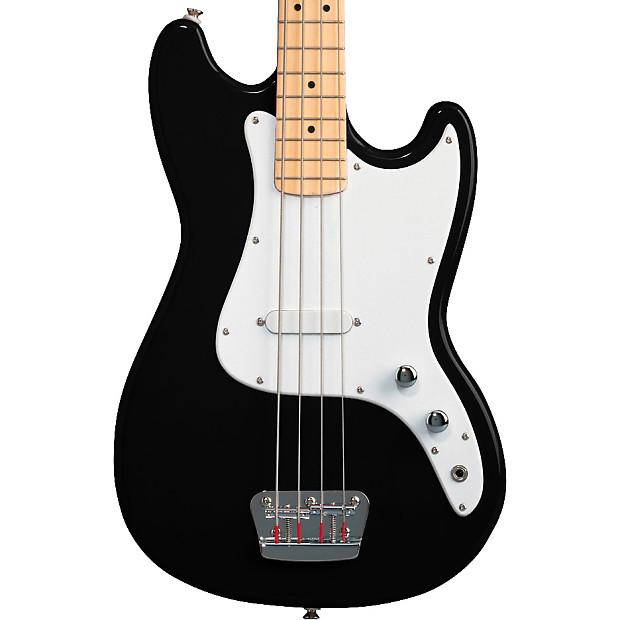 squier bronco bass black the guitar store reverb. Black Bedroom Furniture Sets. Home Design Ideas