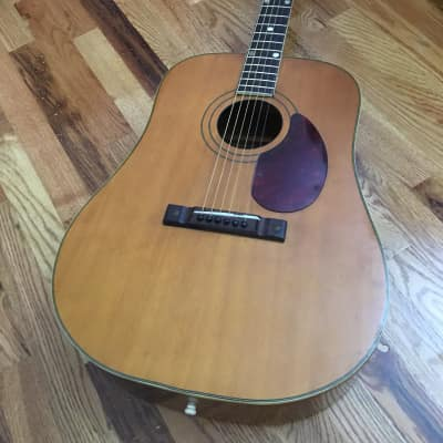 Kay old kraftsman 6323 dreadnaught  1950's Natural for sale