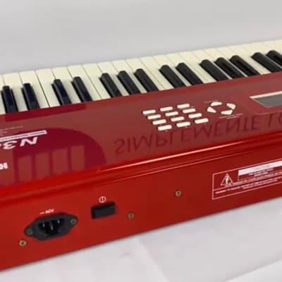 Korg N364 Gloss Red/ Rojo Brillante. Excelencia hace la diferencia Teclados U.S.A.