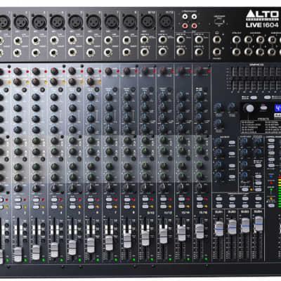 Alto Professional 1604 Professional Live Mixer 2019 Black