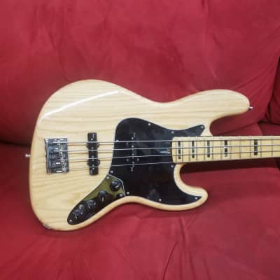 Fender American Deluxe Jazz Bass 2015 Natural for sale