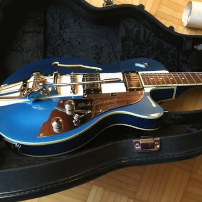 Duesenberg Starplayer TV Alliance Mike Campbell I, 100% MINT, 2017 Bleu/white, in Québec (CANADA) for sale