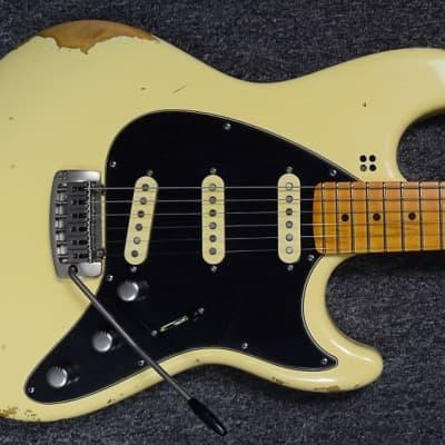 Sandberg California ST II 6-String Guitar, Hardcore-Aged Creme/Maple Fingerboard. IN STOCK for sale