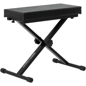 Ultimate Support JS-MB100 Jamstands Medium X-Style Keyboard Bench