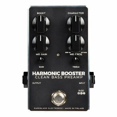 Darkglass Electronics Harmonic Booster Clean Preamp, *New-In-Box*