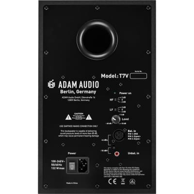 Adam Professional Audio T7V T-Series Active Nearfield Monitor (Single)