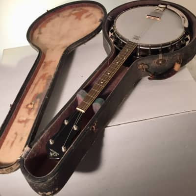 Gibson TB-1 Banjo 1927 Irish Tuning with resonator and case