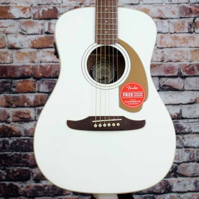 Fender Malibu Player Acoustic-Electric Guitar | Arctic Gold for sale