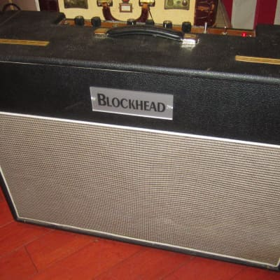 Pre-Owned 2004 Blockhead Firstborn 2 x 12 Combo Amp Black for sale