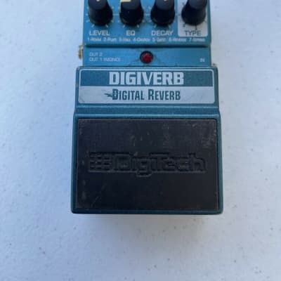 Digitech X-Series XDV Digiverb Stereo Digital Reverb Rare Guitar Effect Pedal