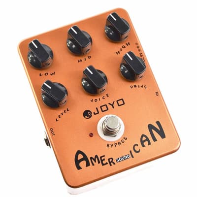 JOYO JF-14 American Sound Vintage Deluxe Amp Emulating Overdrive Guitar Effects Pedal for sale