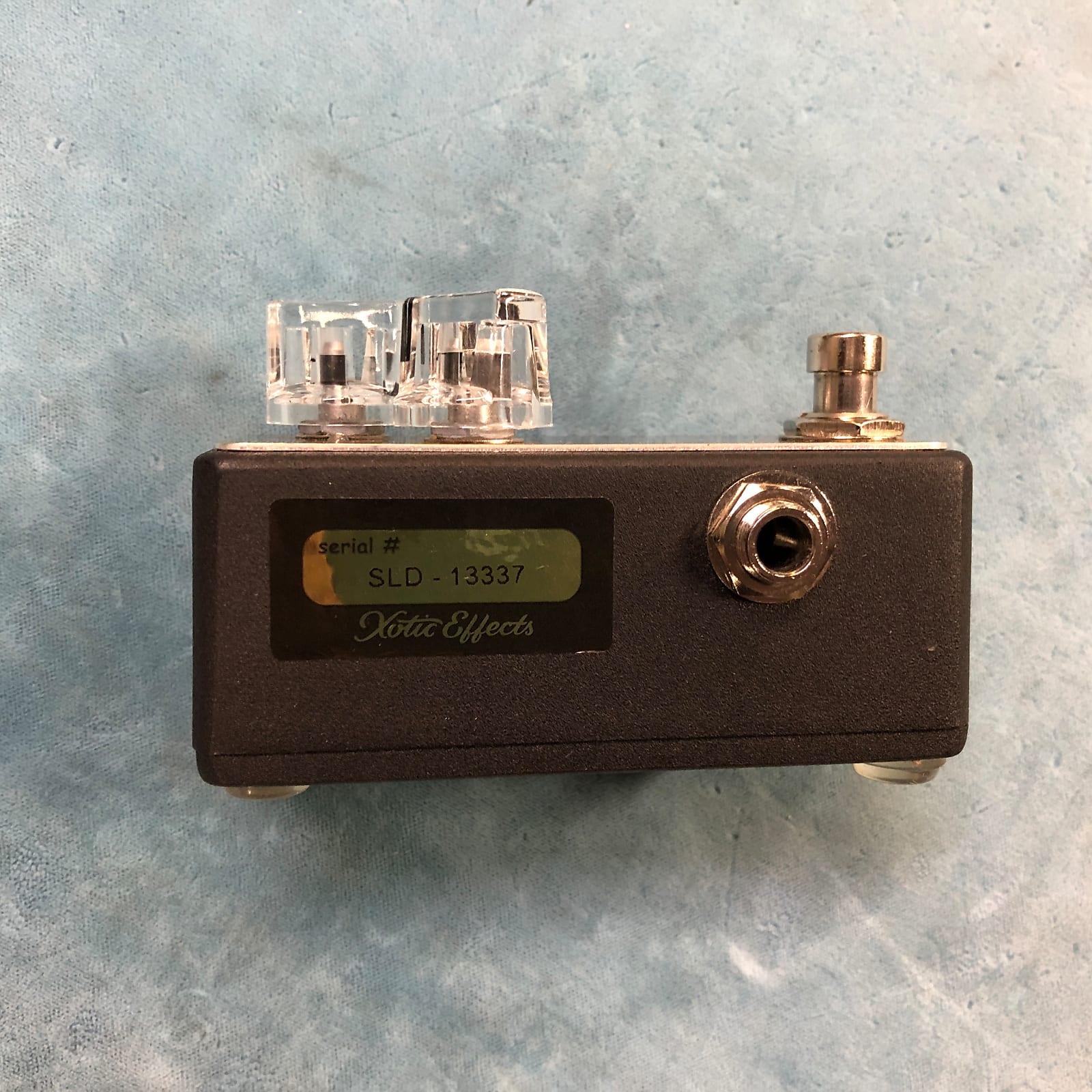 Xotic SL Drive Mini Overdrive / Distortion Effects Pedal w/ Box