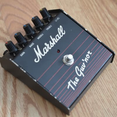 Marshall Guv'nor OD Distortion Amp In a Box UK 1980s Black