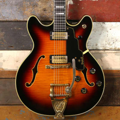1967 Guild Starfire VI Sunburst for sale