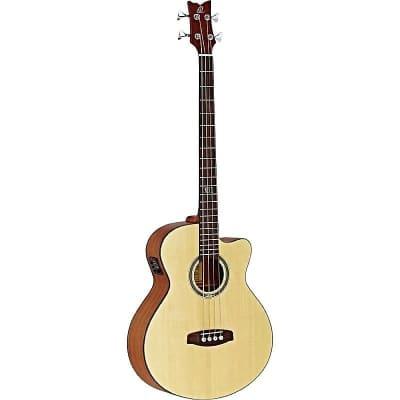 Ortega Guitars D538-4 Deep Series 5 Medium Scale Acoustic Bass Guitar w/ Video Link for sale
