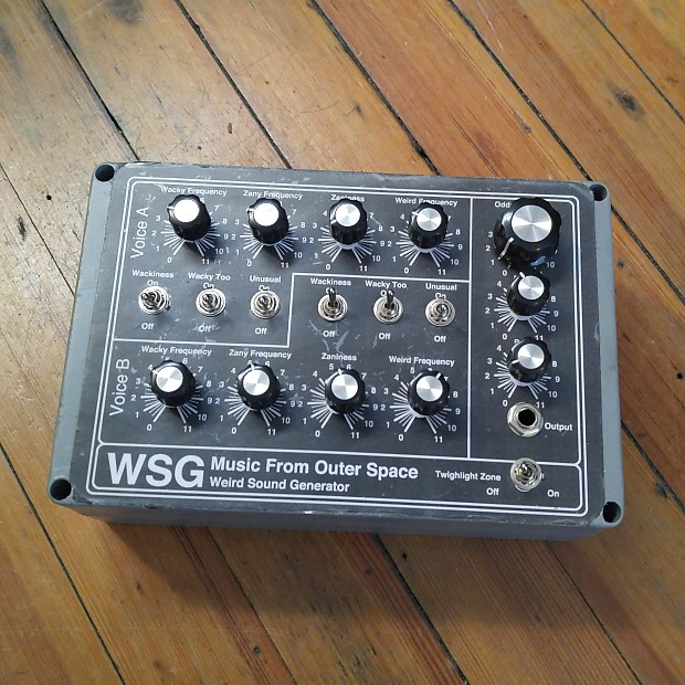 Music From Outer Space Weird Sound Generator