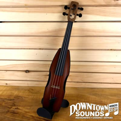 Magic Fluke Cricket Violin with Pickup and Gig Bag