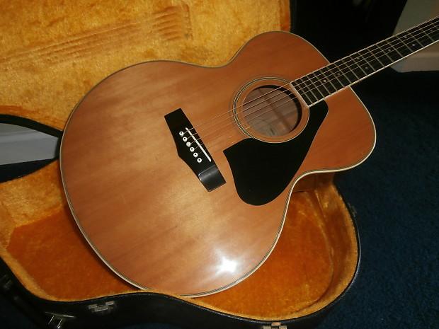 vintage 1980 39 s yamaha cj 818 jumbo acoustic guitar w reverb. Black Bedroom Furniture Sets. Home Design Ideas