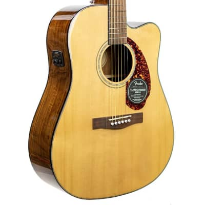 Pre-Owned CD-140SCE Dreadnought, Walnut Fingerboard, Natural w/Case 0970213321