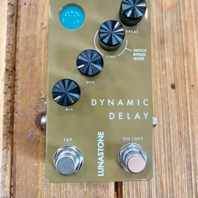Lunastone Dynamic Delay Pedal, ducked Delay, tap tempo, 2290 based!  Denmark! *Free Shipping CONUS* for sale
