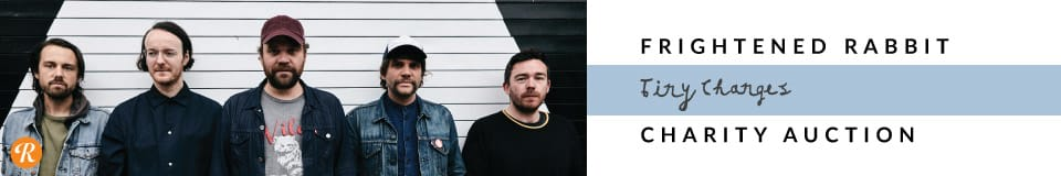 The Frightened Rabbit Tiny Changes Reverb Charity Auction