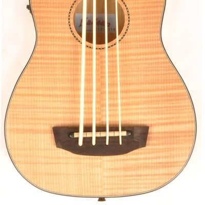 Hadean Flamed Maple UKB-29 Bass Uke Ukulele