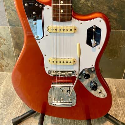 Brilliant Fender Johnny Marr Signature Jaguar Metallic KO Rosewood Fingerboard wOHSC (292)