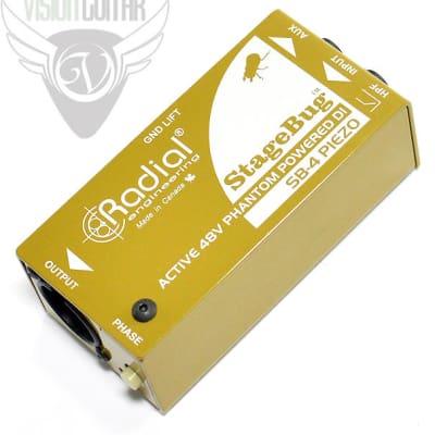 Radial StageBug™ SB-4 Active DI Optimized For Piezo Transducers