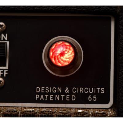 Invisible Sound Guitar amplifier Jewel Lamp Indicator amp jewel.  Model 120.  For pilot light
