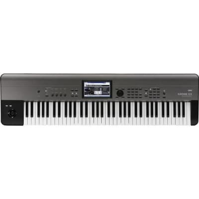 Korg Krome EX 73-Key Music Workstation Semi Weighted Keyboard with New Programs and PCM Data