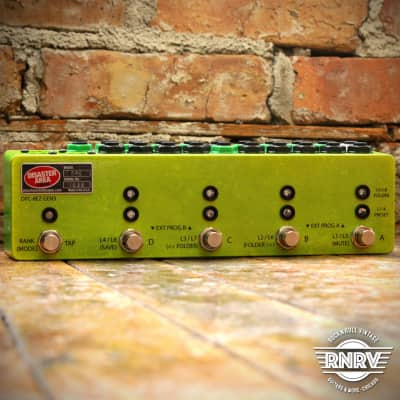 Disaster Area DPC-8EZ Gen3 Programmable Bypass Switcher with MIDI - Shocker Yellow