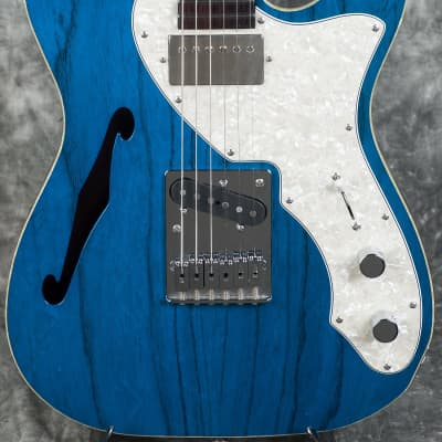 Freedom Guitar Research Red Pepper Trans Blue Red Pepper Trans Blue for sale