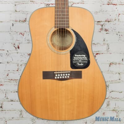 2012 Fender CD-100-12 12 String Dreadnought Acoustic Natural (USED) for sale