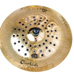 "Turkish Cymbals 16"" Effects Series Rock Beat China RB-FXCH16"