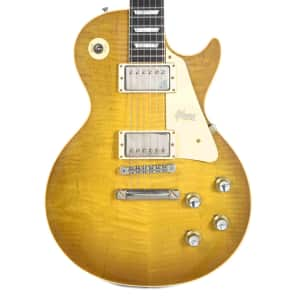 Gibson Custom Shop 1958 Les Paul Standard Plain Top with 60 V2 Neck Profile Green Lemon VOS 2018