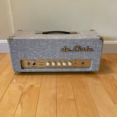 de Lisle Dartford Fifteen 15 Watt Top Boost Style  Boutique Amp Head for sale