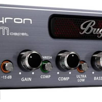 Bugera Veyron-M BV1001M Compact 2000W Class D Bass Head with MOSFET Preamp