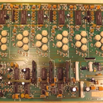 Korg DW 6000 parts / KLM-655 Voice Board (Tested and Working)
