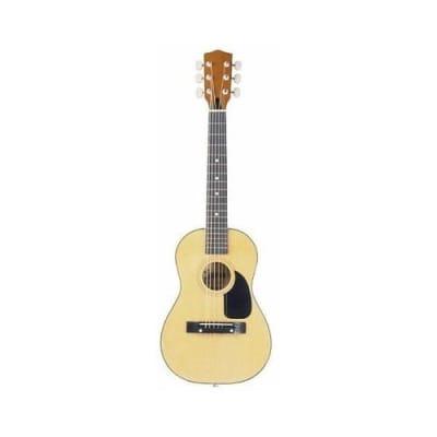 New Lauren La30-u Natural Finish 1/2 Size Guitar Steel String 30