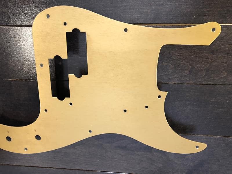 Fender Precision Bass Pickguard :: Original :: 1957 1958 Gold Anodized ::  Vintage