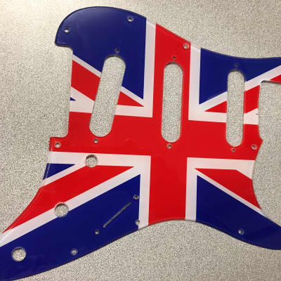 WD Strat Pickguard Union Jack