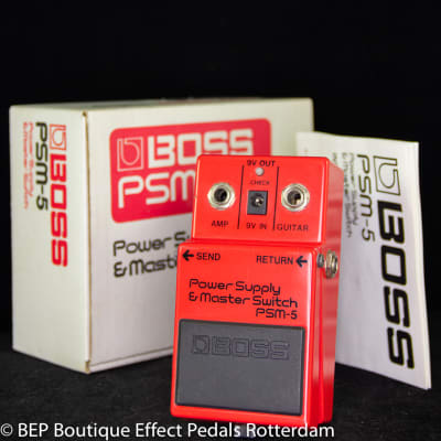 Boss PSM-5 Power Supply and Master Switch 1993 s/n ZE73638